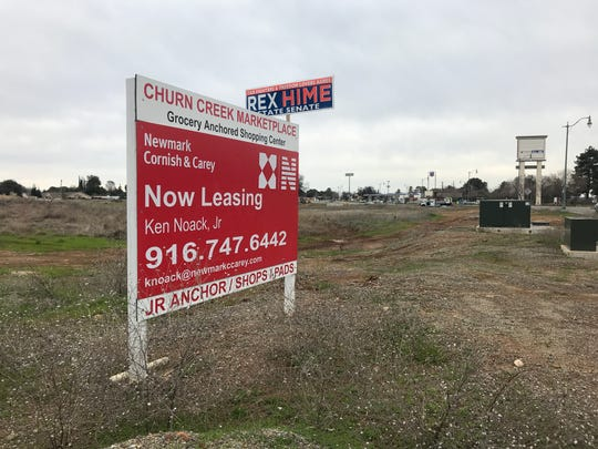 Work on the Save Mart grocery store in Churn Creek MarketPlace is expected to start this summer. Both In-N-Out Burger and Ross Dress For Less also will open stores in the new shopping center.