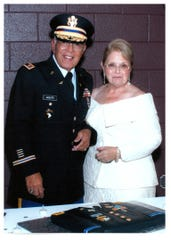 Joe Flores Arzate and Paulette Malenowsky Arzate
