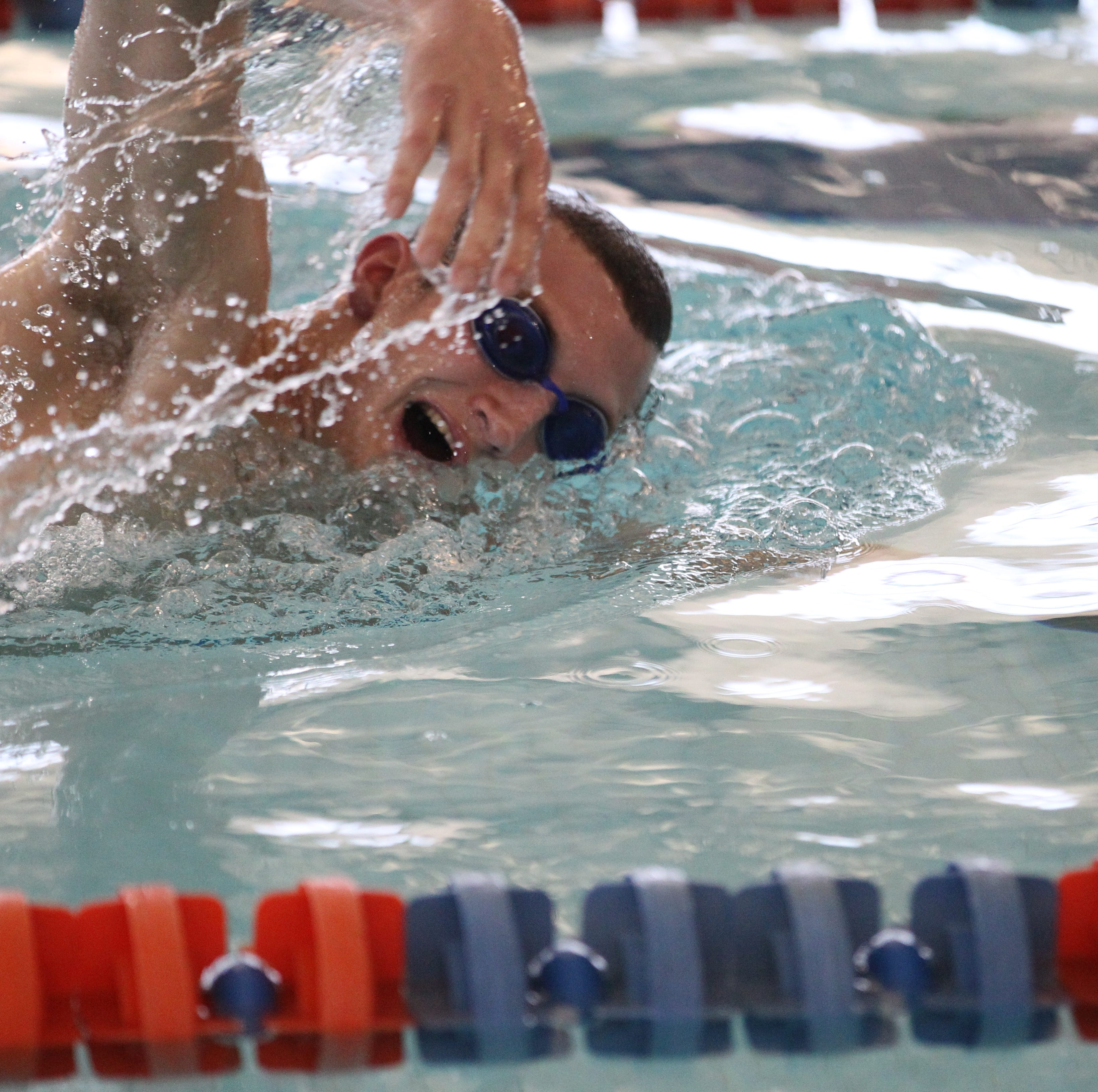 Slip hurts Central swimmer Hill's chances for state medal