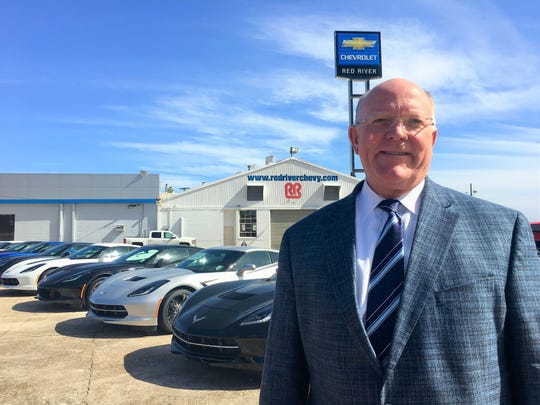 George Fritze, fourth generation dealer owner of Red River Chevrolet.