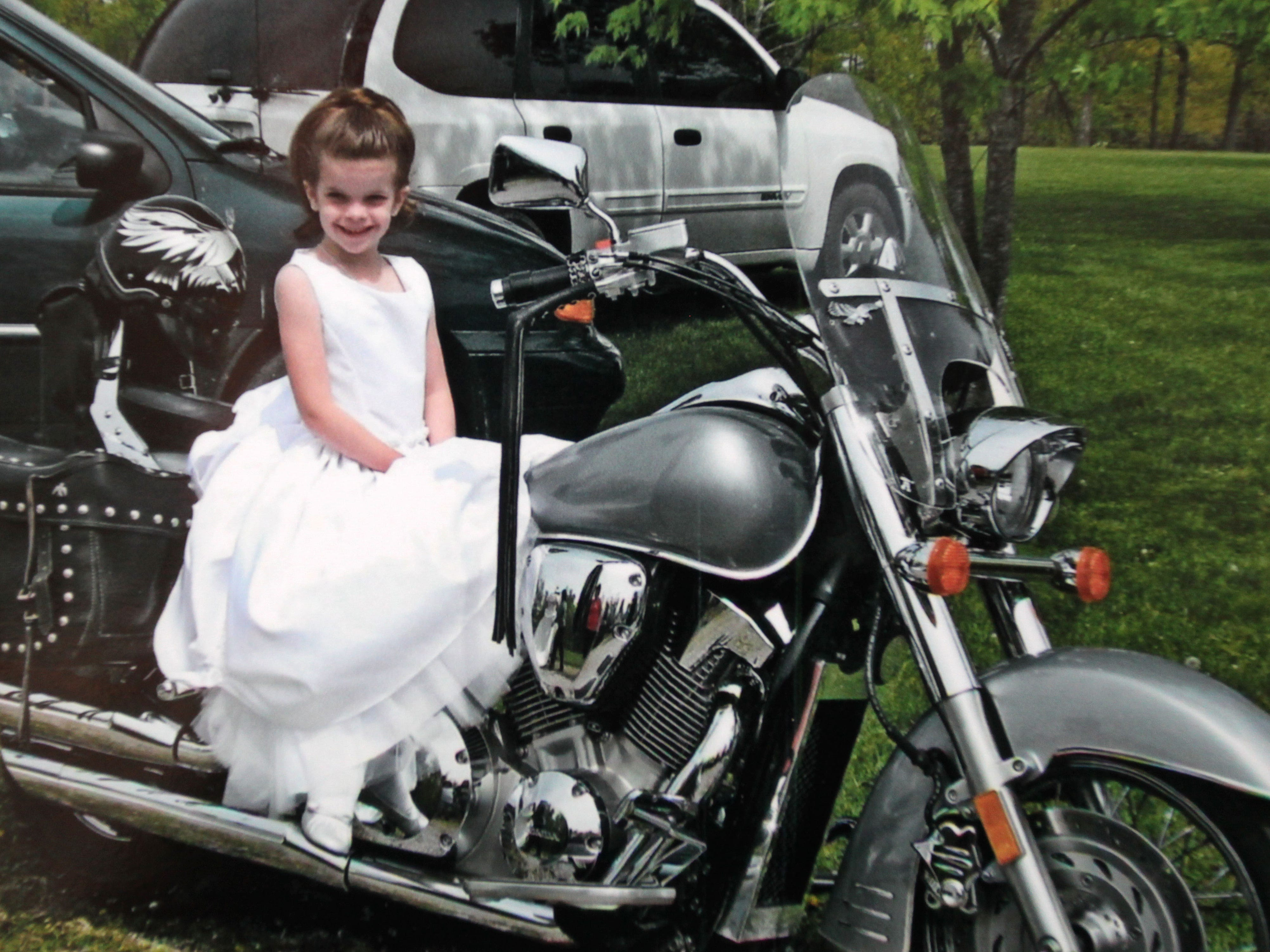 Hailey Owens in April 2009. Her family said she was a tomboy, but also loved to dress up.