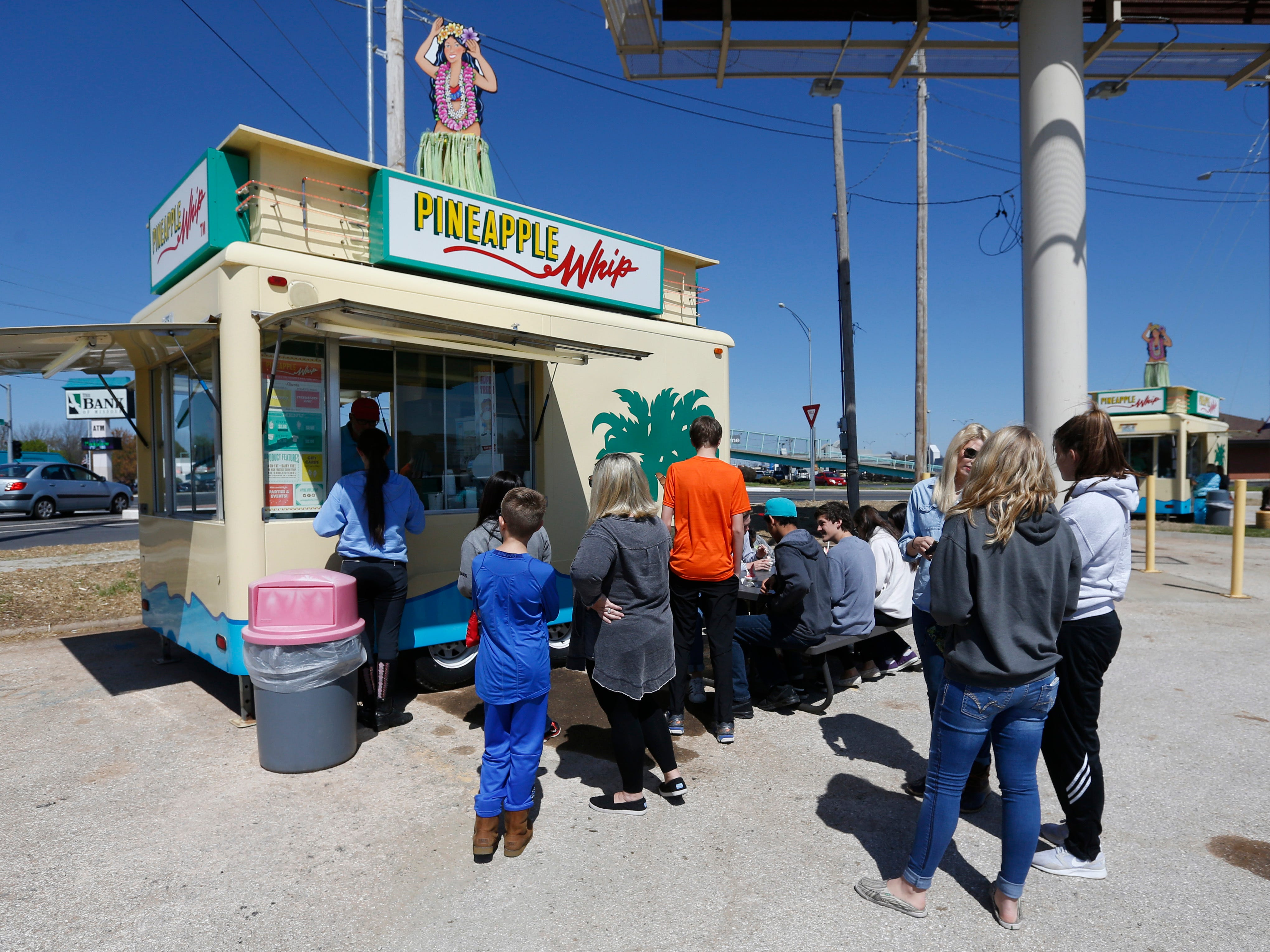 Pineapple Whip got its start in 1974 at the Ozark Empire Fairgrounds. Dan Fortner managed the fairgrounds and came up with the formula for the sweet treat. Now, Pineapple Whip can be found being served from trailers around town.