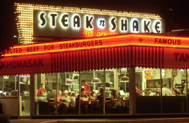 The Steak 'n Shake at St. Louis Street and National Avenue opened it doors to travelers on Route 66 in 1962. While the restaurant may be part of a chain, it's one of the 10 oldest places to grab a bite to eat in Springfield.