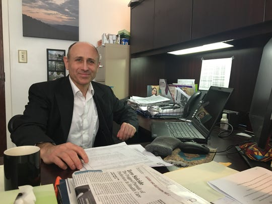 Photographed in his office on Thursday, Feb. 7, 2019, Valley Community Services Board medical director Dr. Steven Kessler oversees the medication-assisted treatment program to treat substance use disorders.