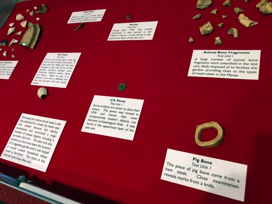 The Woodrow Wilson Presidential Library and Museum held an archeological dig last summer and found some artifacts dating back to pre-Civil War. The museum is set on finding out more on those who lived, worked and gathered there prior to Wilson's birth.