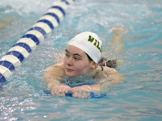Hanna Shifflett, a Wilson Memorial senior, will be part of the swim team competing for the Hornets in the VHSL state meet Thursday.