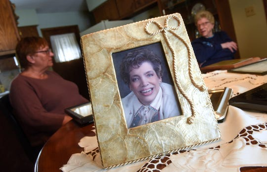 Kathy Wingen's sister Karen Kraemer and mother, Emma Rassier, share memories of Wingen during an interview Tuesday, Feb. 12, in Sartell. Wingen was a well-known advocate for those with disabilities in Central Minnesota. She died Feb. 5 in her St. Cloud home.
