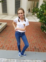 13-year-old Charlotte Stuart-Tilley is leading the School Strike for Climate movement in Tallahassee.