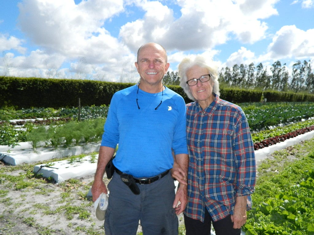 Owners Diane Cordeau and Carl Frost started hosting Farm to Table dinners six years ago in an effort to showcase some of their exotic produce and educate guests on how and what types of the crops they grow.
