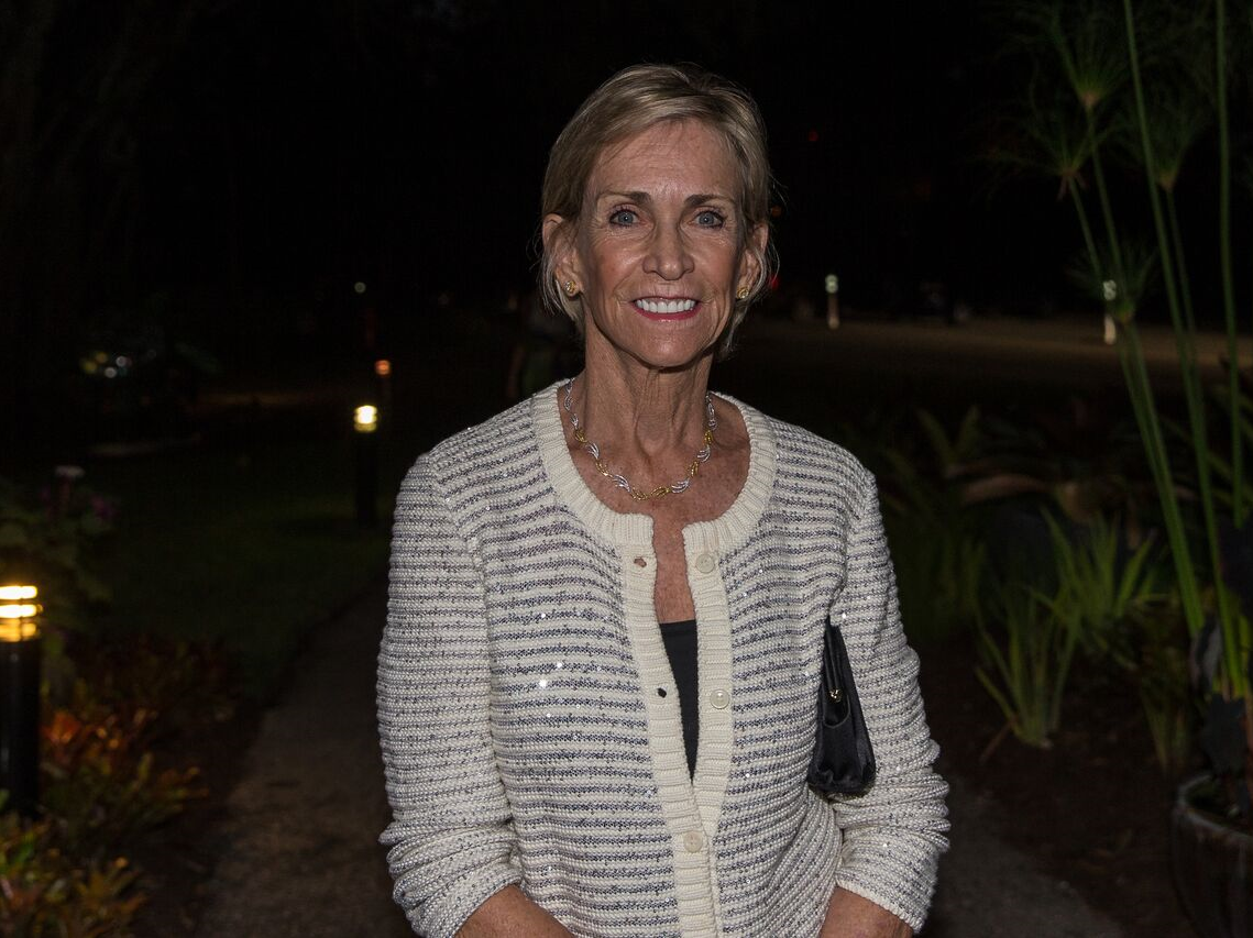 Susan Schuyler Smith at a Gatekeepers event at McKee Botanical Garden.