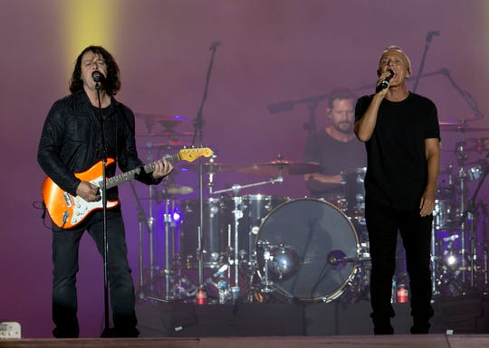 Tears for Fears was a popular band at SunFest in West Palm Beach.