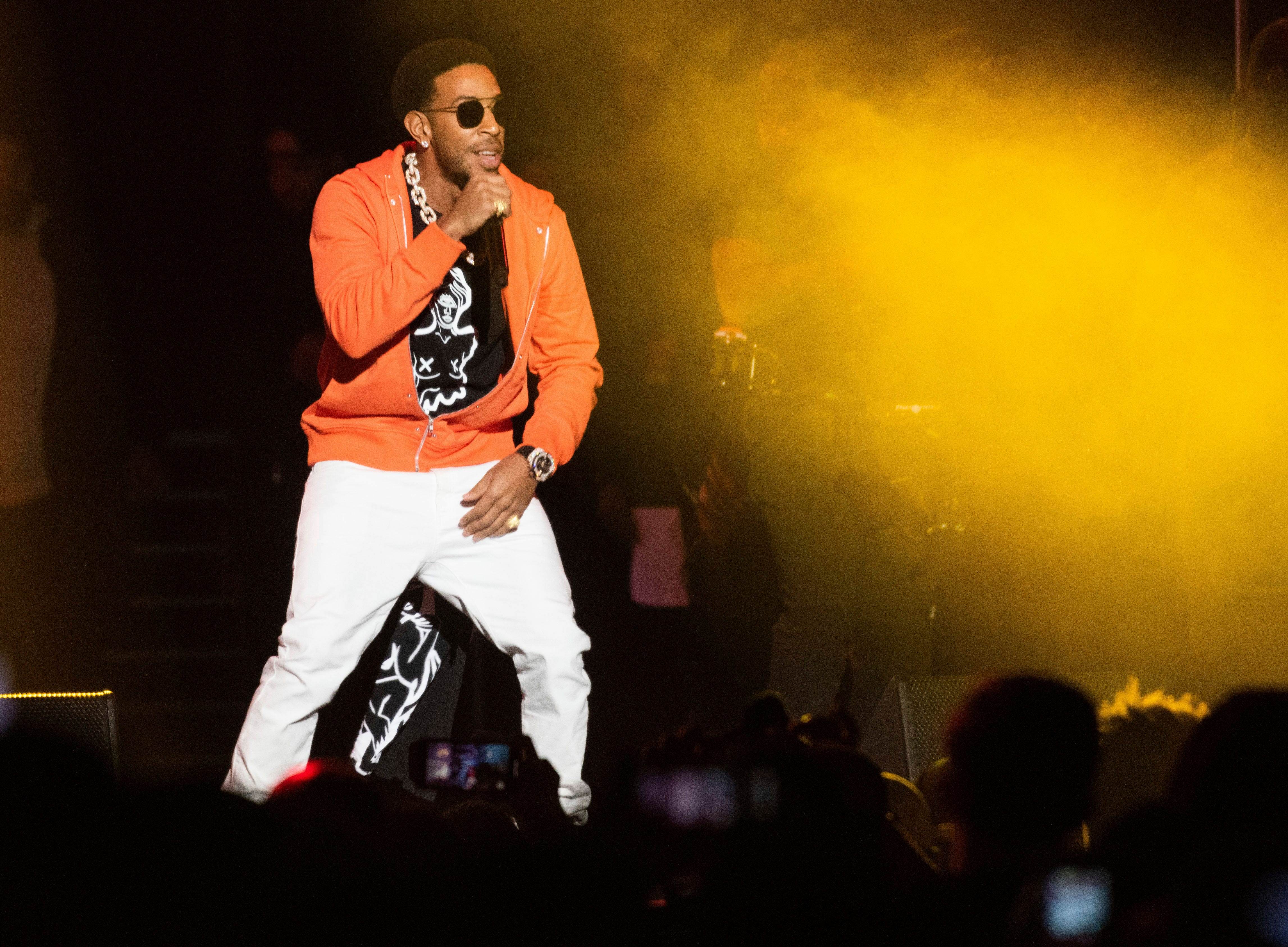 Ludacris performs Jan. 31 at the Bud Light Super Bowl Music Fest at the State Farm Arena in Atlanta. Ludacris will perform at SunFest in West Palm Beach.