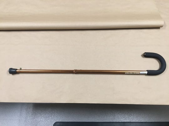The weapon a Fort Pierce man used to rob two stores in St. Lucie County.