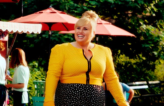 "This image released by Warner Bros. Pictures shows Rebel Wilson in a scene from ""Isn't It Romantic."""