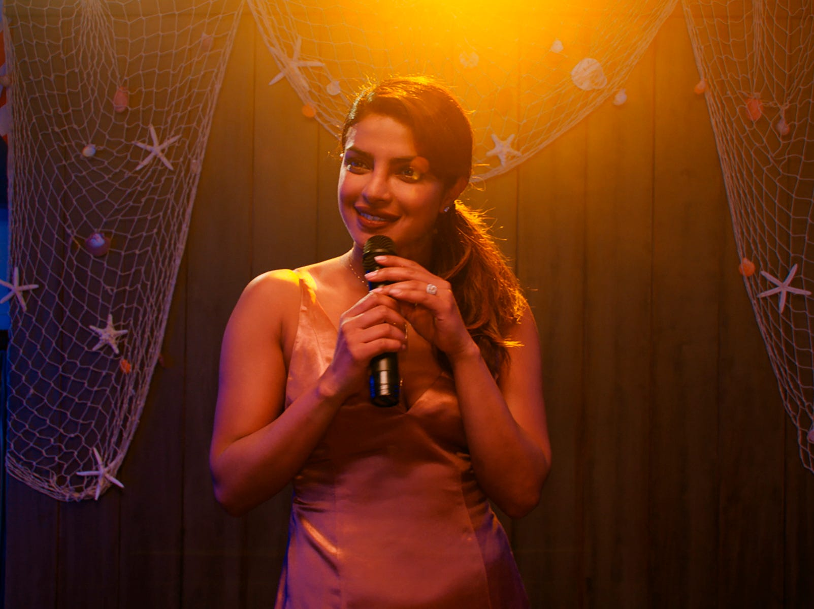 """This image released by Warner Bros. Pictures shows Priyanka Chopra in a scene from """"Isn't It Romantic."""""""