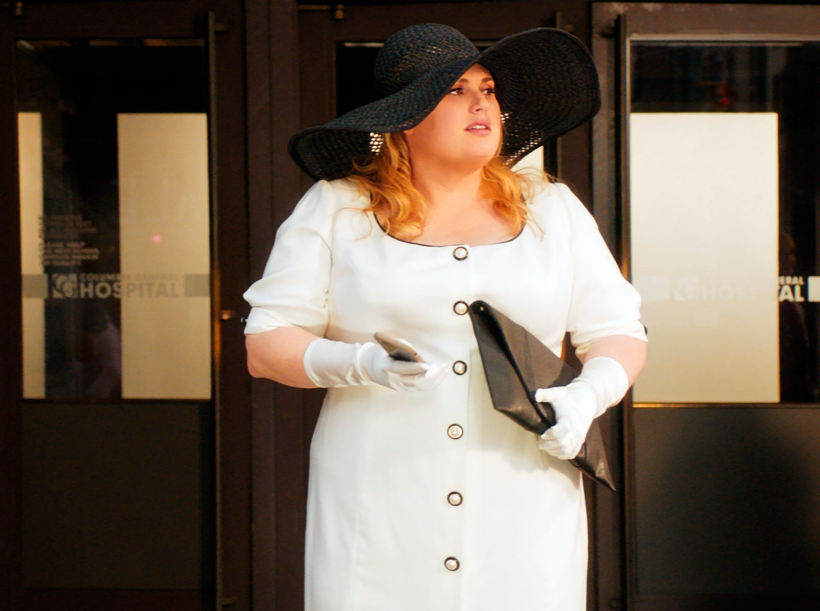 """This image released by Warner Bros. Pictures shows Rebel Wilson in a scene from """"Isn't It Romantic."""""""