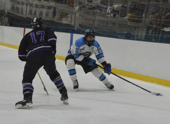 Kyle Foresta and Suffern closed out the regular season with a 2-0 win over John Jay and heads into the playoffs with an 18-1-1 record.