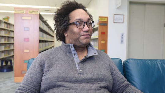 Alex Francisco, talks about participating in the upcoming  Drag Queen Storytime at Haverstraw King's Daughters Library on Feb. 11, 2019. Rockland Pride Center got an ArtsWestchester grant to put on a series of Drag Queen Story Hours in 2019 throughout Rockland