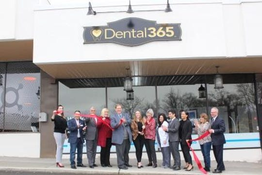 Welcome to Clarkstown, Dental365, a new business located at 195 South Main Street, New City. Supervisor Hoehmann, Councilman Borelli and the New City Chamber of Commerce helped the owners and their team celebrate their grand opening with a ribbon cutting.