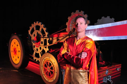 The Human Arrow is one of the performers at this year's Royal Hanneford Circus, at the Westchester County Center, Feb. 16-18