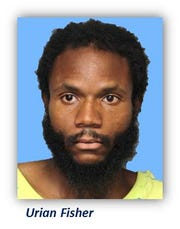 Urian Fisher was charged for stealing from a car in Wilmington last month.