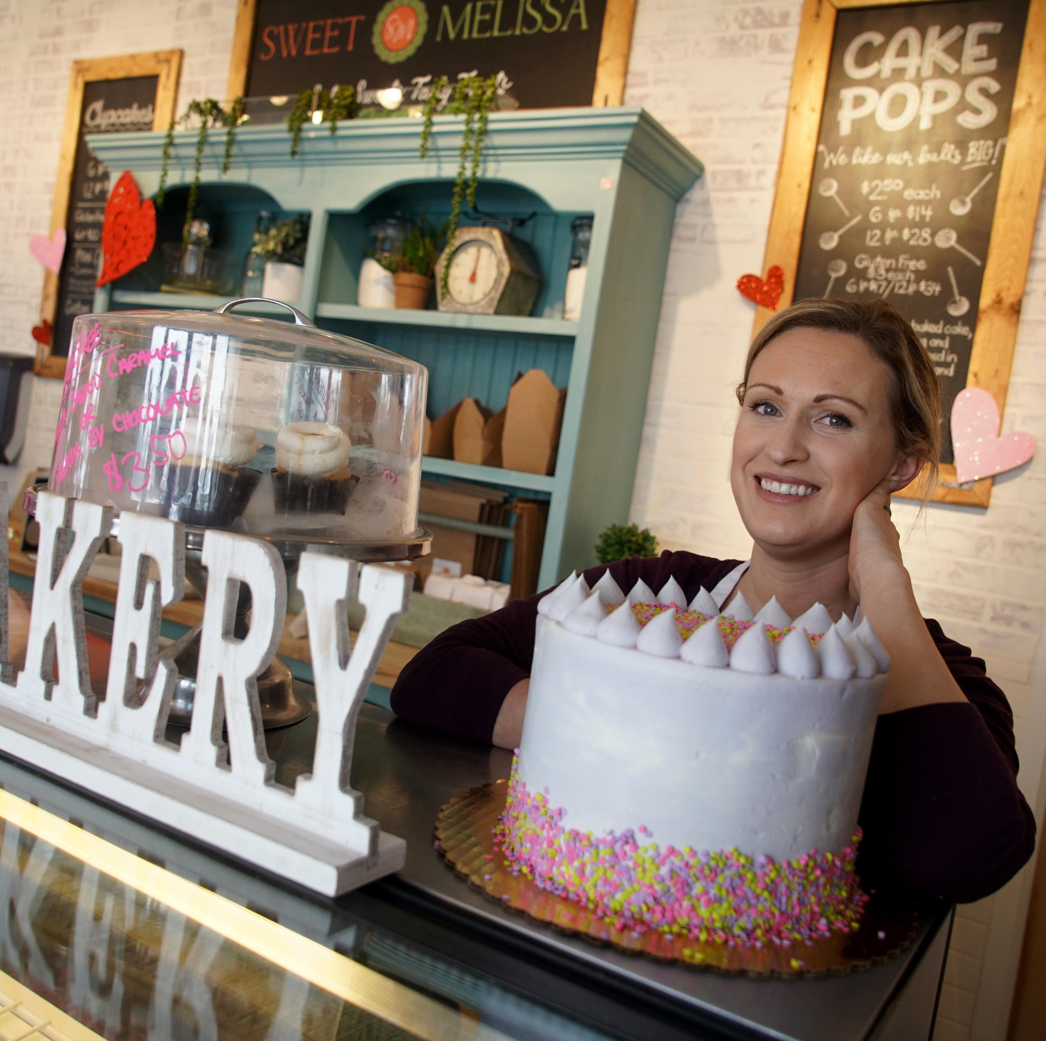 Melissa Marchione, owner of Sweet Melissa Bakery at Main Street Station in Middletown, turned her passion for baking into a new booming business.