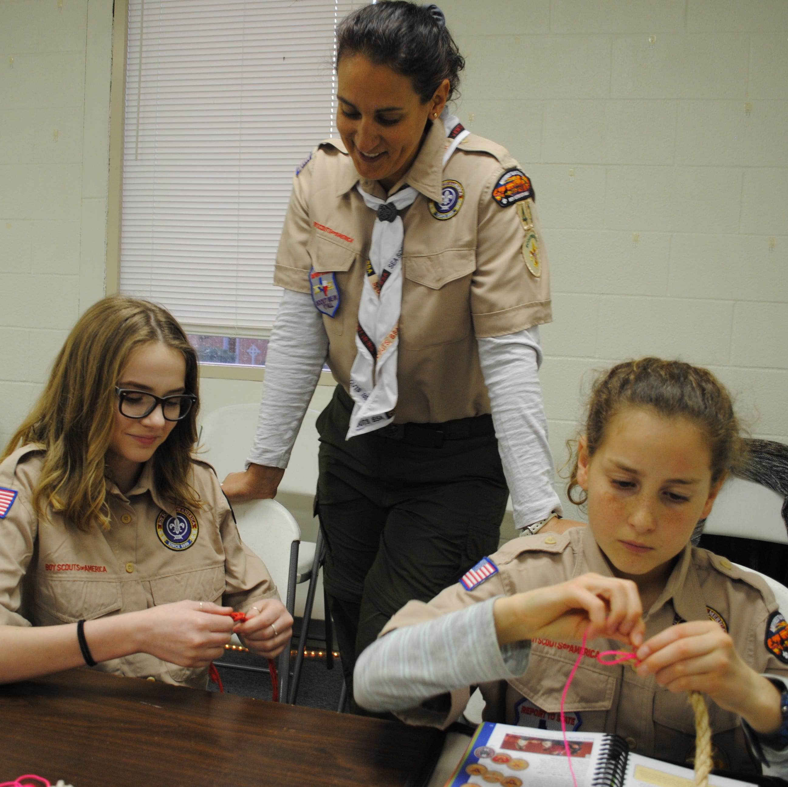 Prepared for life: First female Boy Scout troops begin in Wichita Falls