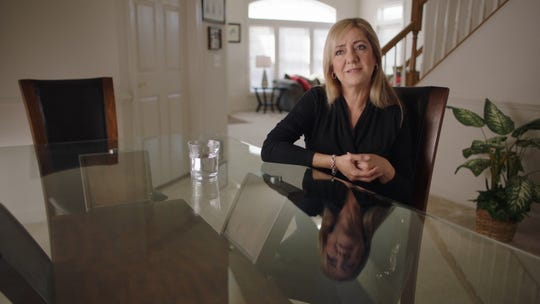 "Lorena Bobbitt in the documentary ""Lorena."""
