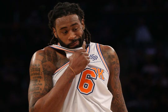 New York Knicks center DeAndre Jordan.