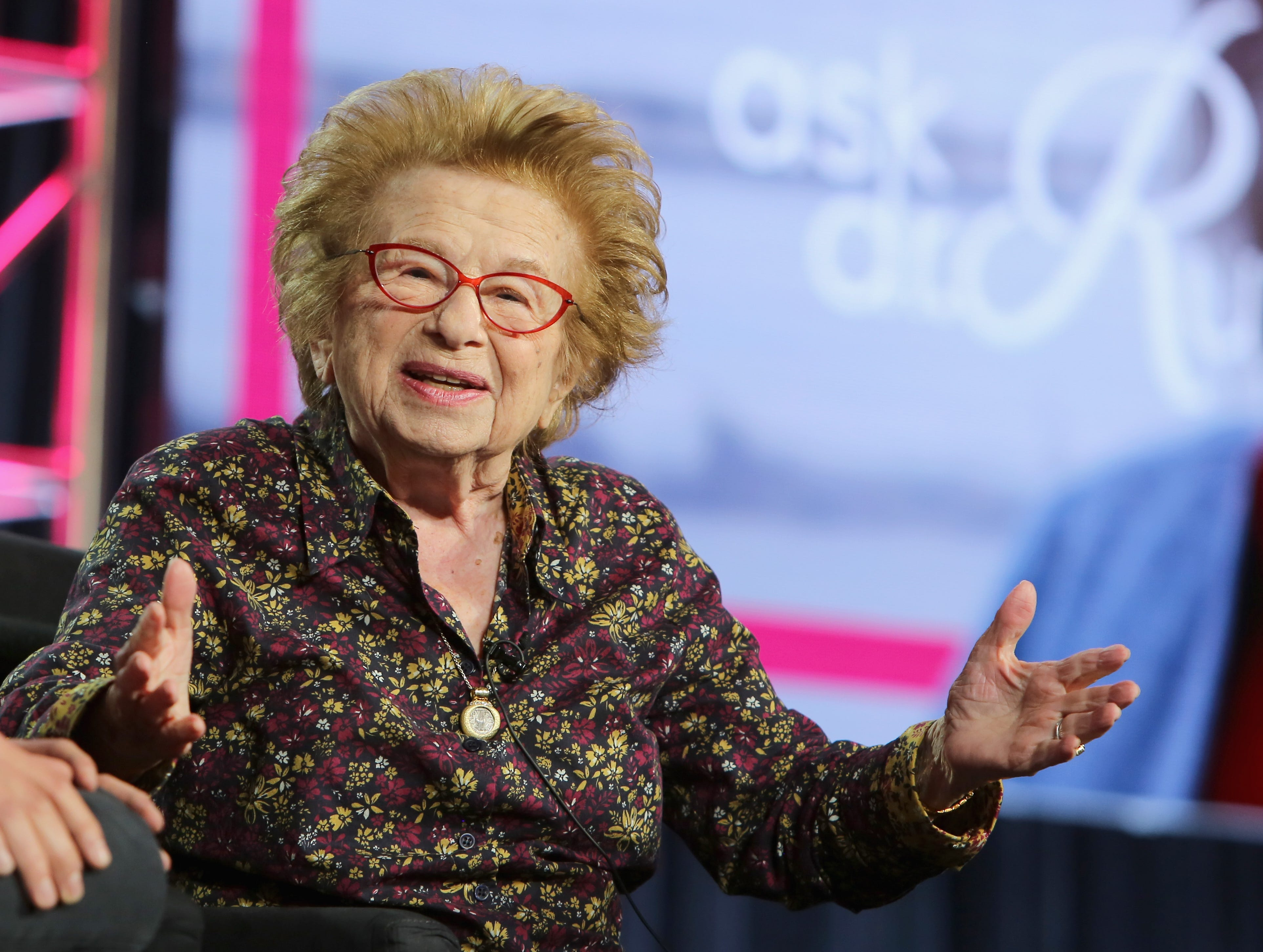 """Dr. Ruth Westheimer discusses her new show """"Ask Dr. Ruth"""" on Hulu."""