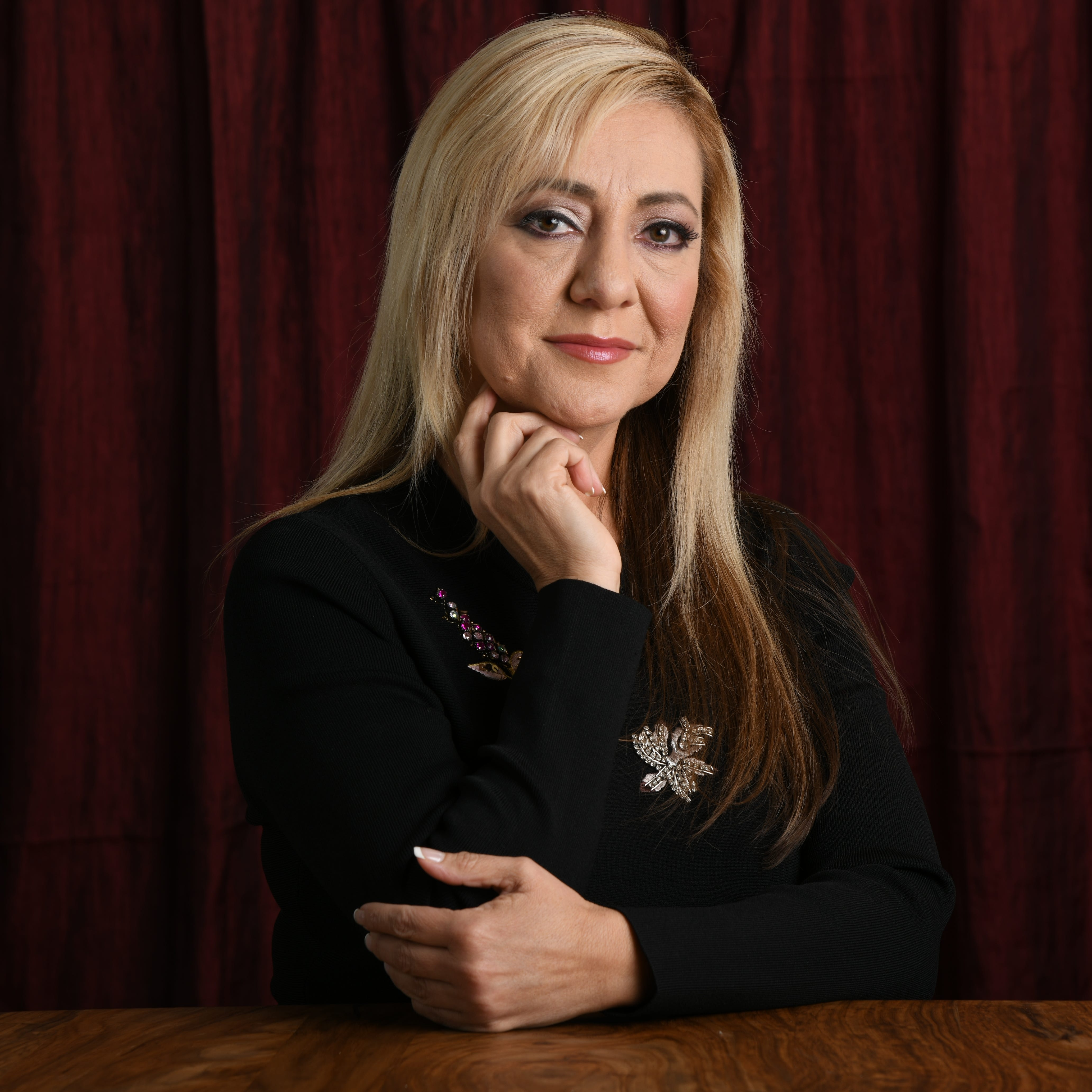 "2/6/19 12:56:00 PM -- Los Angeles, CA, U.S.A  -- Portrait of Lorena Bobbitt. She is the subject of a Amazon documentary series ""Lorena."" Photo by Robert Hanashiro, USA TODAY staff ORG XMIT:  RH 137802 Lorena Bobbitt 02/06/2019 [Via MerlinFTP Drop]"