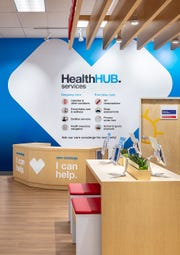 CVS Pharmacy is introducing a new concept store called the HealthHUB, which has more space for health care services and less space for traditional retail items.