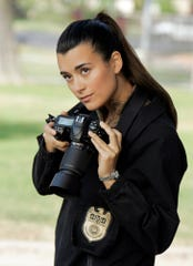 """Though her character was written out in 2013 and killed offscreen in 2014, the shadow of former agent Ziva David (Cote de Pablo) still looms large on """"NCIS."""""""