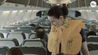 A flight attendant's first priority is not to tend to your every need.