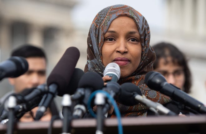 There's at least a whiff of political correctness in the reaction of the right to the comments by Congresswoman Ilham Omar about Israel.