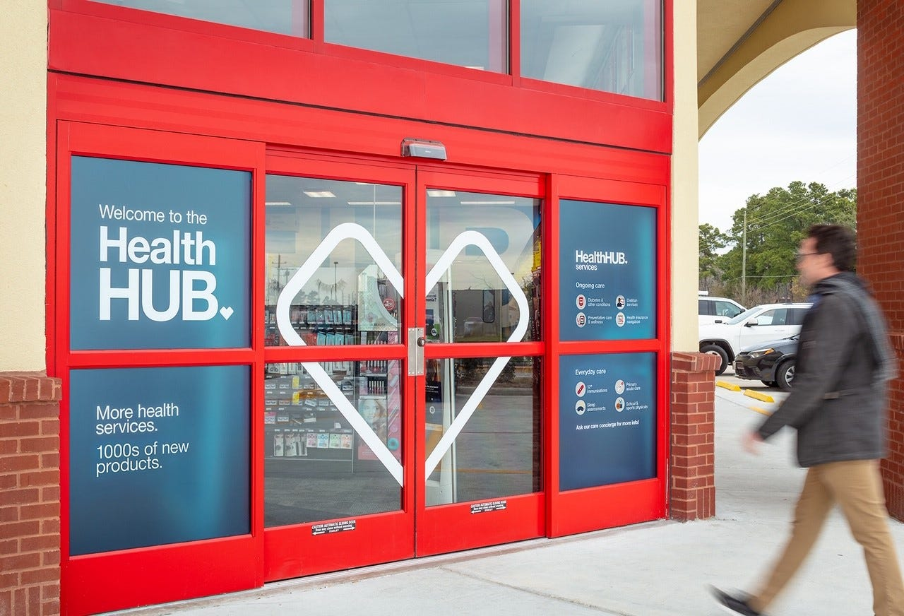 cvs concept store introduced with space for health care