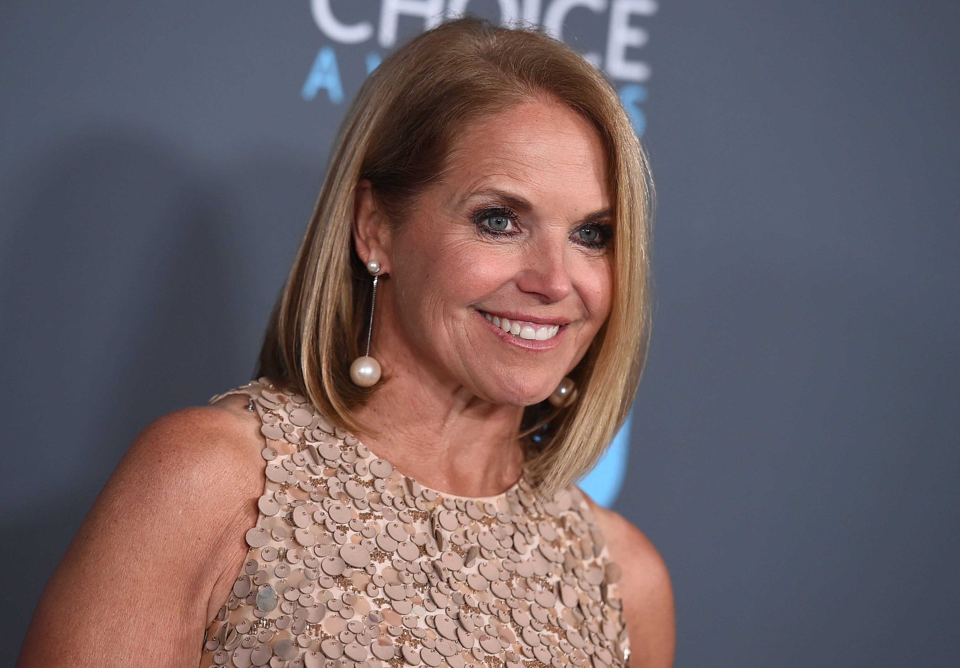Katie Couric poses without makeup: How to feel beautiful and embrace aging
