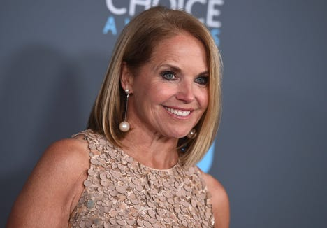 "Katie Couric is using an old ""Today"" show clip to make a point about maternity leave in the United States."