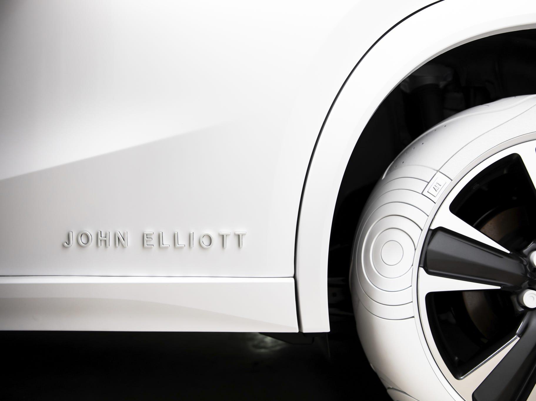 John Elliot Logo on first ever Lexus UX