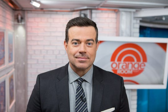 """Last Call"" host Carson Daly, pictured on the ""Today"" set in 2017."