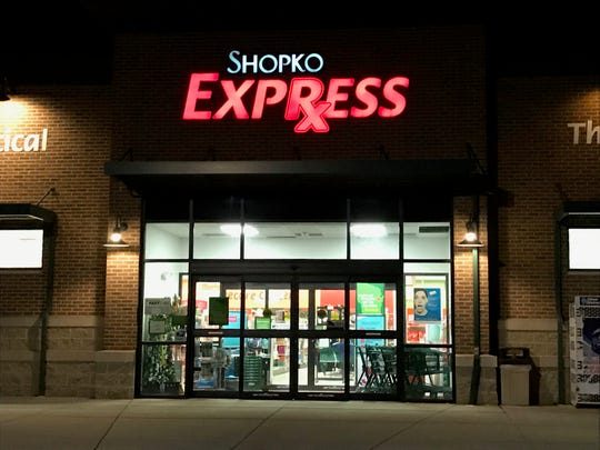 Shopko Express on Appleton's north side has a postal counter. It is currently scheduled to close Feb. 21.