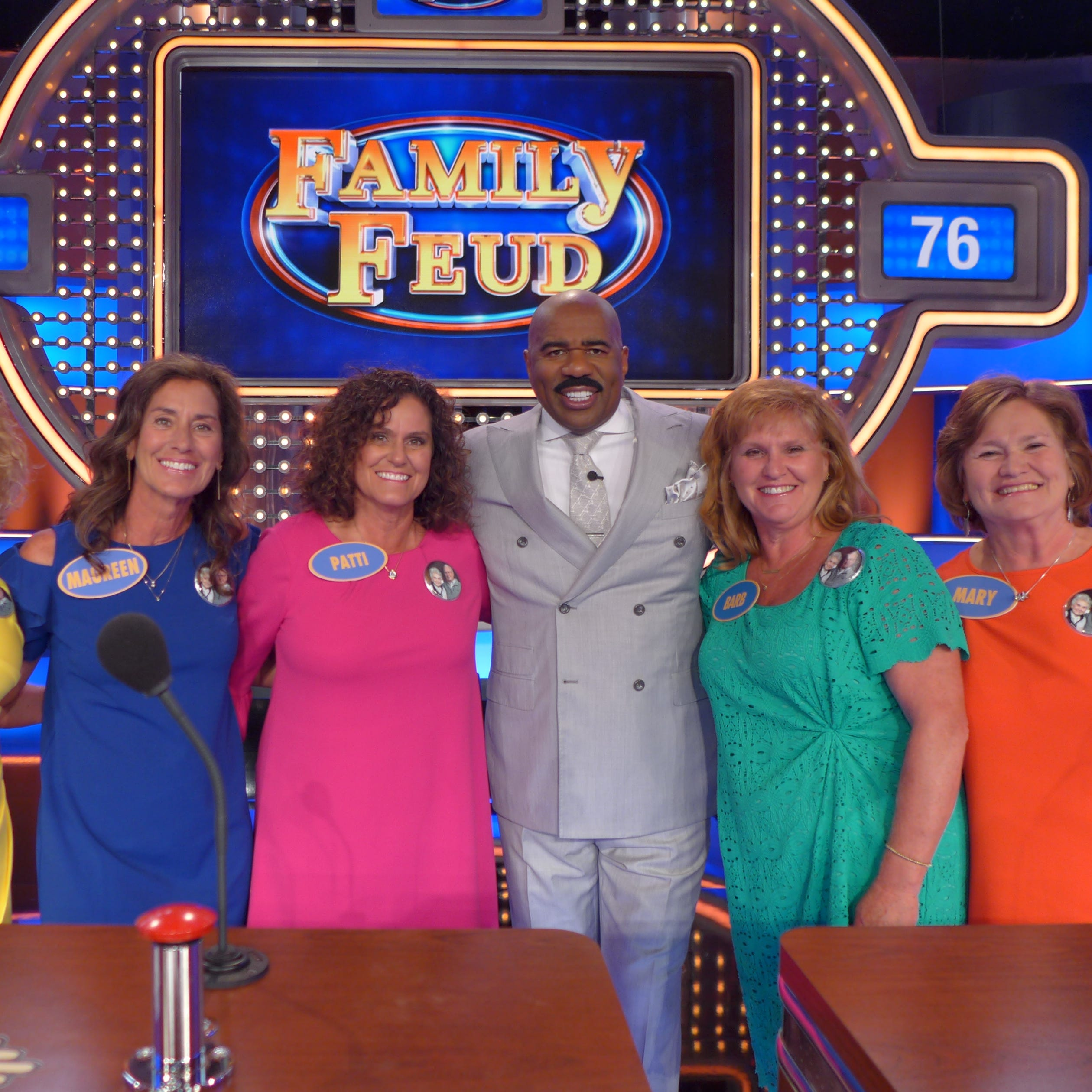 Five sisters from Freedom will be featured on 'Family Feud' this week