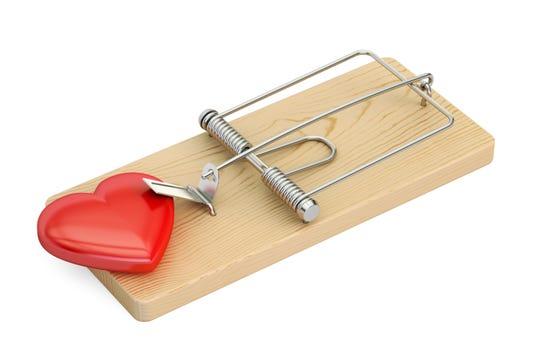 Don't get suckered into a Valentine scam.