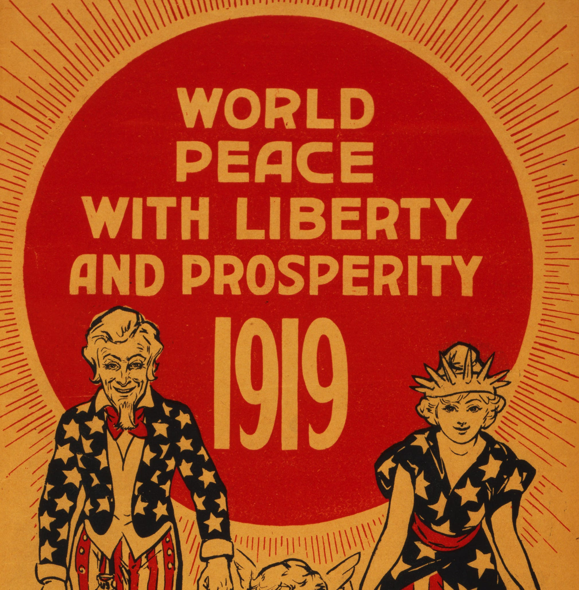Portrait of the Past: 1919 prosperity poster