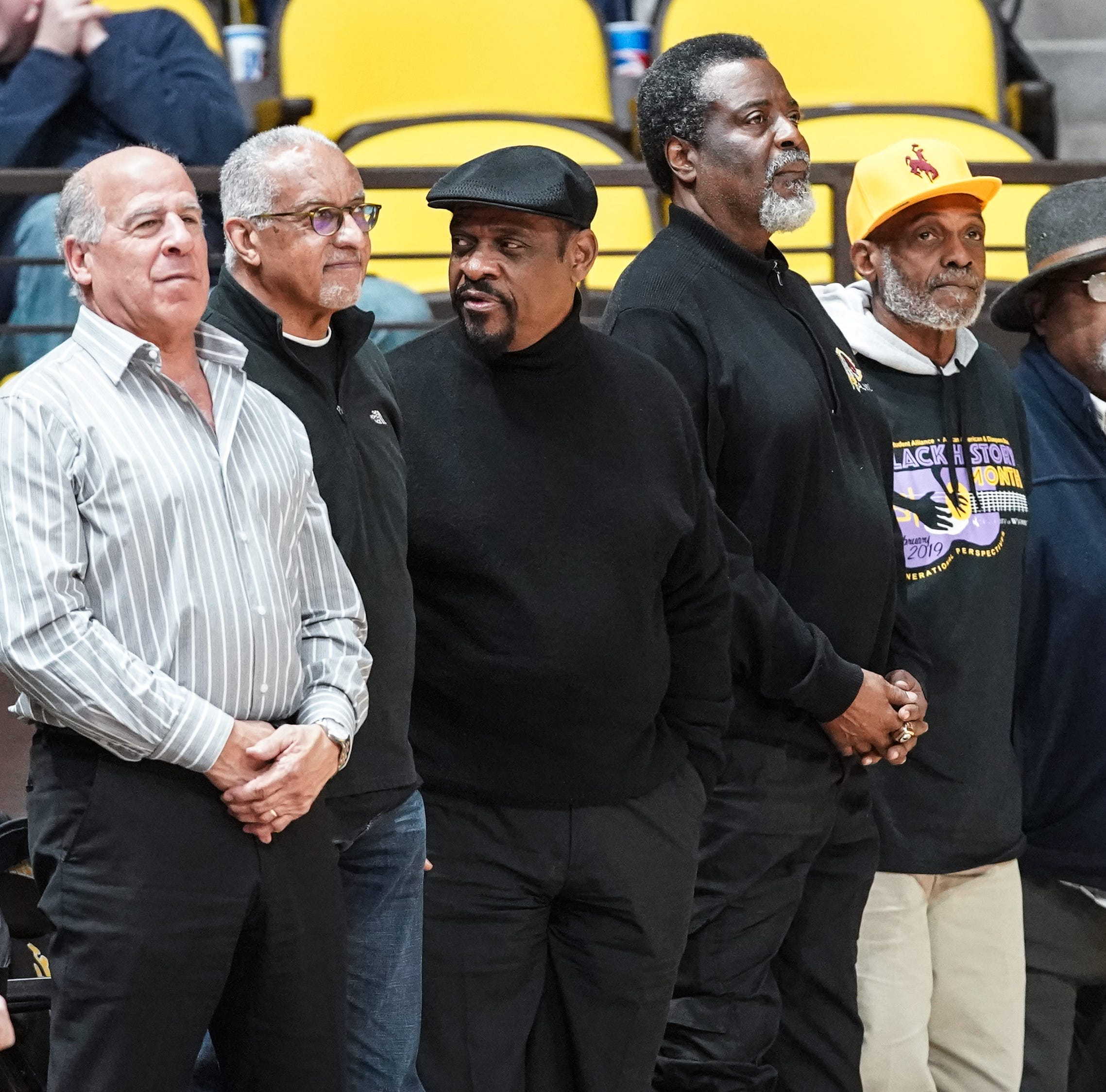 50 years after dismissal from team, Battle Creek's McGee and 'Black 14' return to Wyoming