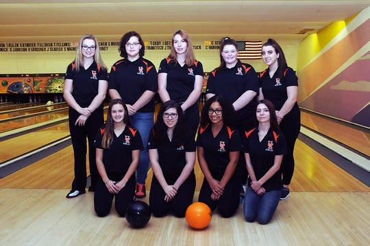 Union-Endicott's bowling team.