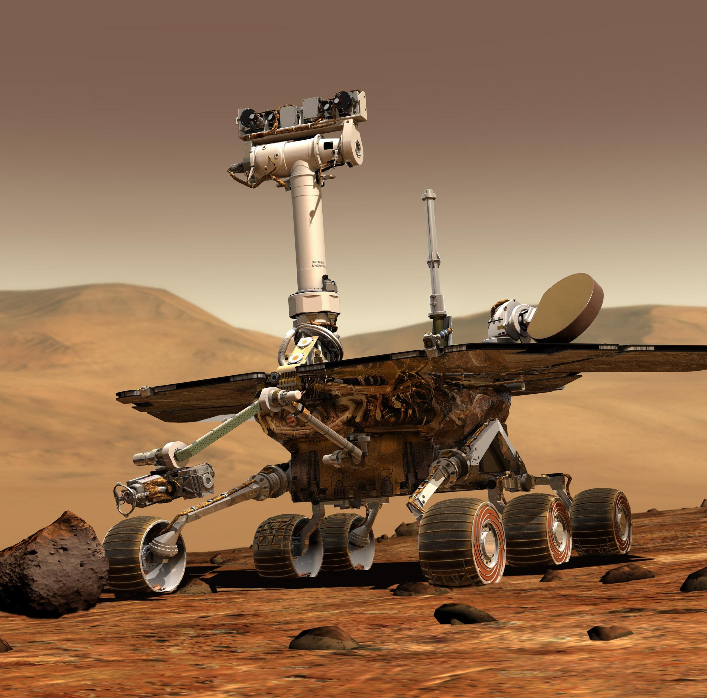 NASA's Rover Opportunity finally bites the dust