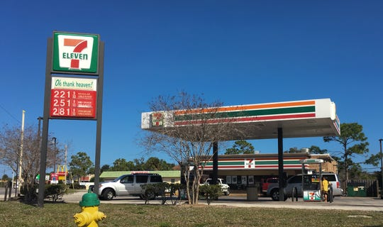 Tashaun Jackson of Cocoa was last seen at this 7-Eleven on Dixon Boulevard in Cocoa, according to police.