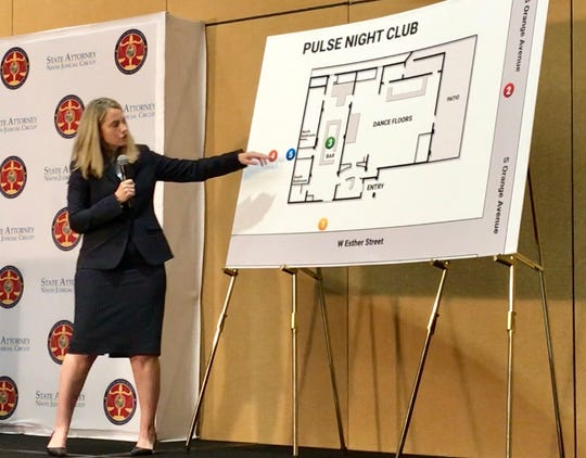 Orange-Osceola Chief Assistant State Attorney Deborah Barra discusses how law enforcement responded during the Pulse massacre during a Wednesday press conference.