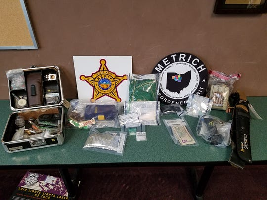 A warrant to search320 West Ave. Crestline, was a result of an ongoing drug investigation into the sale ofmethamphetamine, according to the Crawford County Sheriff's Office.